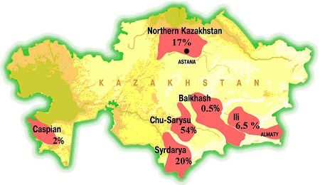 Kazakh Map