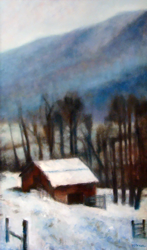 Patrick Taylor's Blue Ridge in Winter