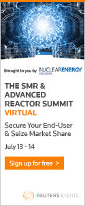 International SMR & Advanced Reactor Summit 2020